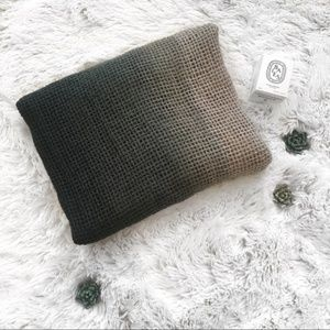 Missoni Target Ombré Green to Cream Knit Scarf